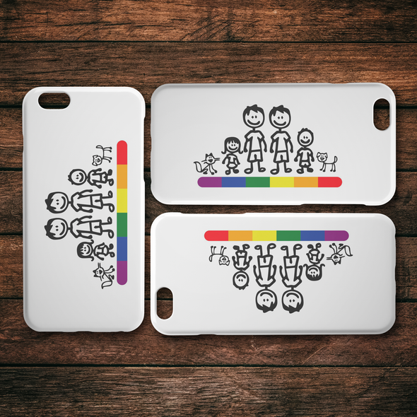 Family is Family iPhone Case