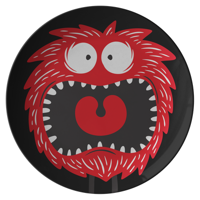 "Funny Monsters 10"" Dinner Plate"