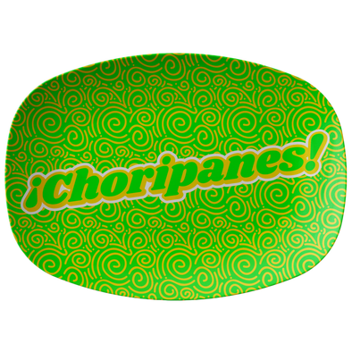 "¡Choripanes! 10"" x 14"" Serving Platter"