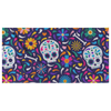 Sugar Skulls Beach Towel