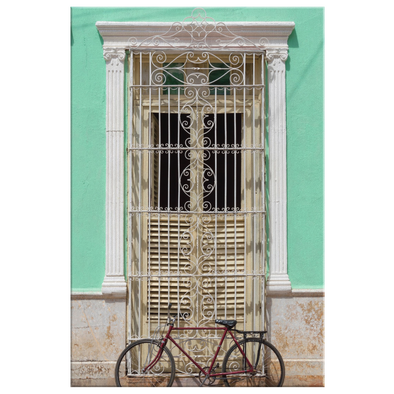 Doorway Havana Cuba Canvas Wall Art
