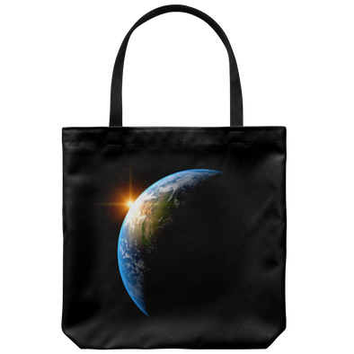 Sunrise Earth Tote Bag