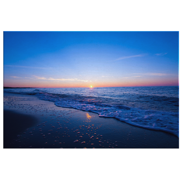 Delicate Sunset Canvas Wall Art