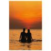 Sunset Lovers Canvas Wall Art