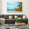 Bocas del Toro Panamá Oleo Painting Style Canvas Wall Art