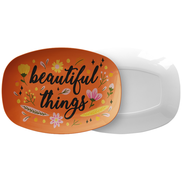 "Beautiful Things 10"" x 14"" Serving Platter"