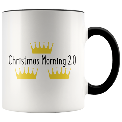 Christmas Morning 2.0  11oz Accent Mug