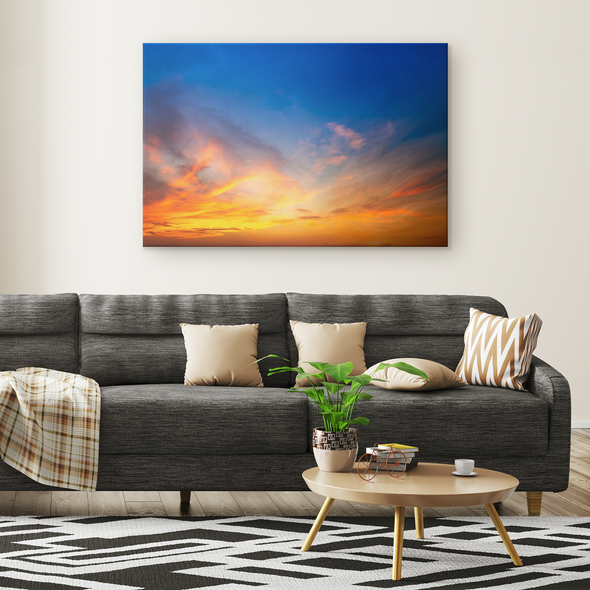 Magnificent Ocean Sunset Canvas Wall Art