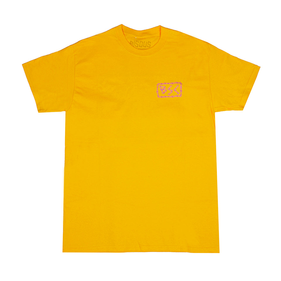 BISOUS - SURF CLUB GOLD T-SHIRT