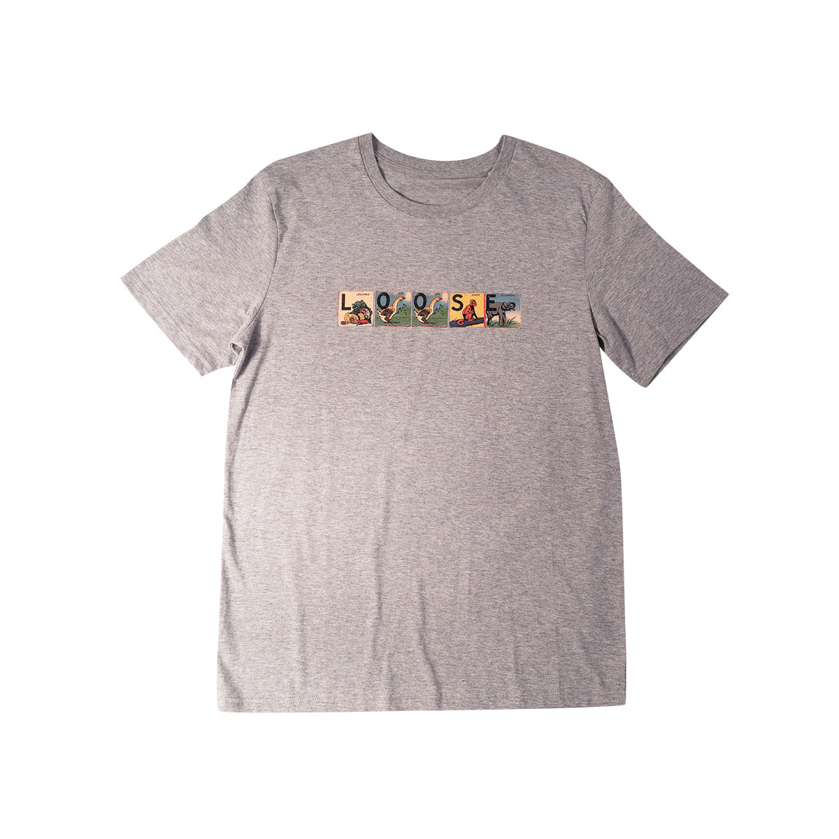 LOOSE - ALPHABET T-SHIRT