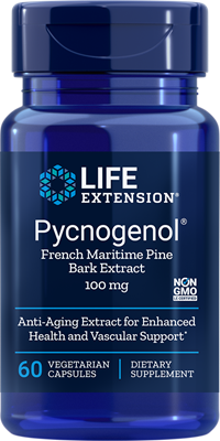 A bottle of Life Extension Pycnogenol®