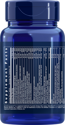 A bottle of Life Extension Two-Per-Day Tablets