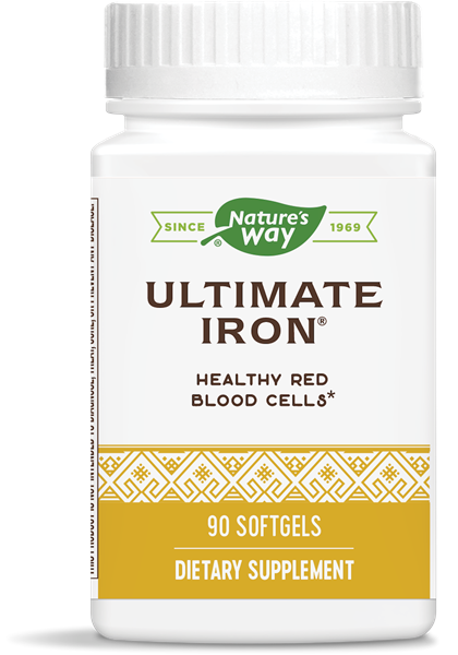 Ultimate Iron - Nature's Way - 90 softgels