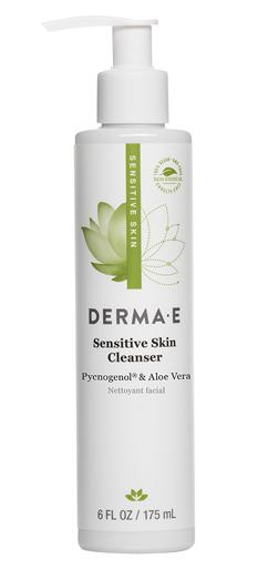 Derma E Sensitive Skin Cleanser with Pycnogenol & Aloe Vera