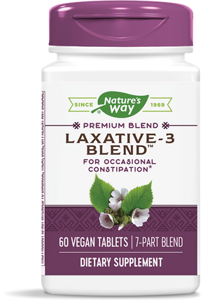 Laxative-3 Blend™ - Nature's Way - 60 tablets