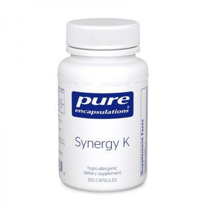 A bottle of Pure Synergy K