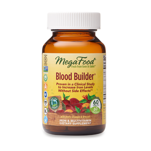 A bottle of Megafood Blood Builder®