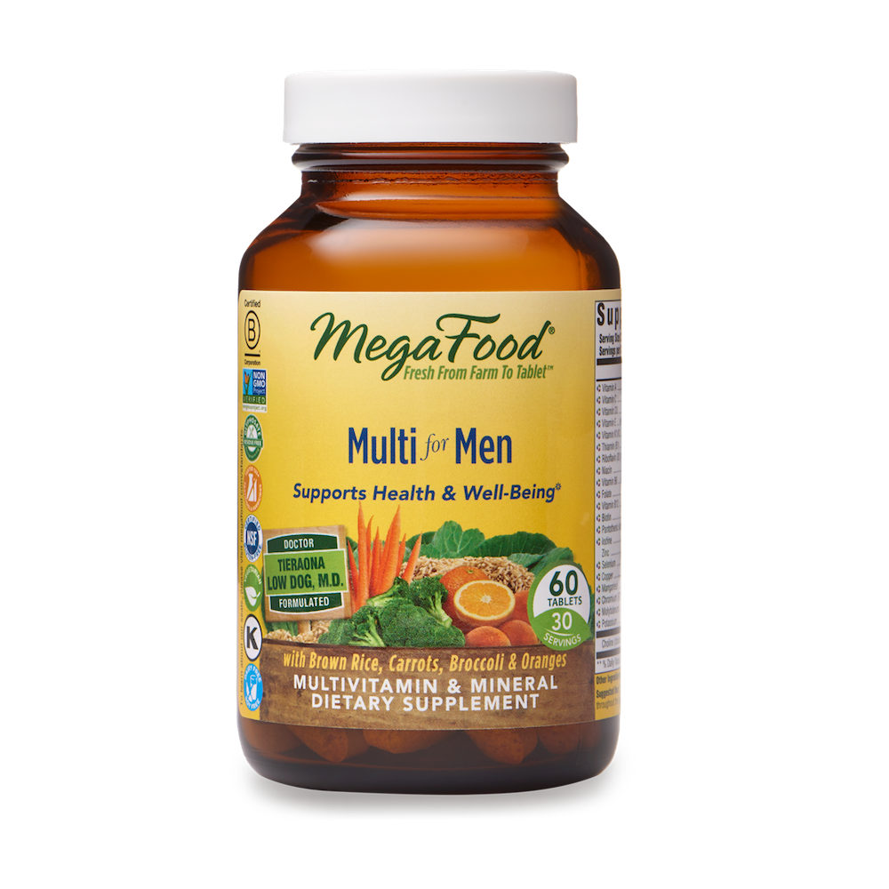 A bottle of Megafood Multi for Men