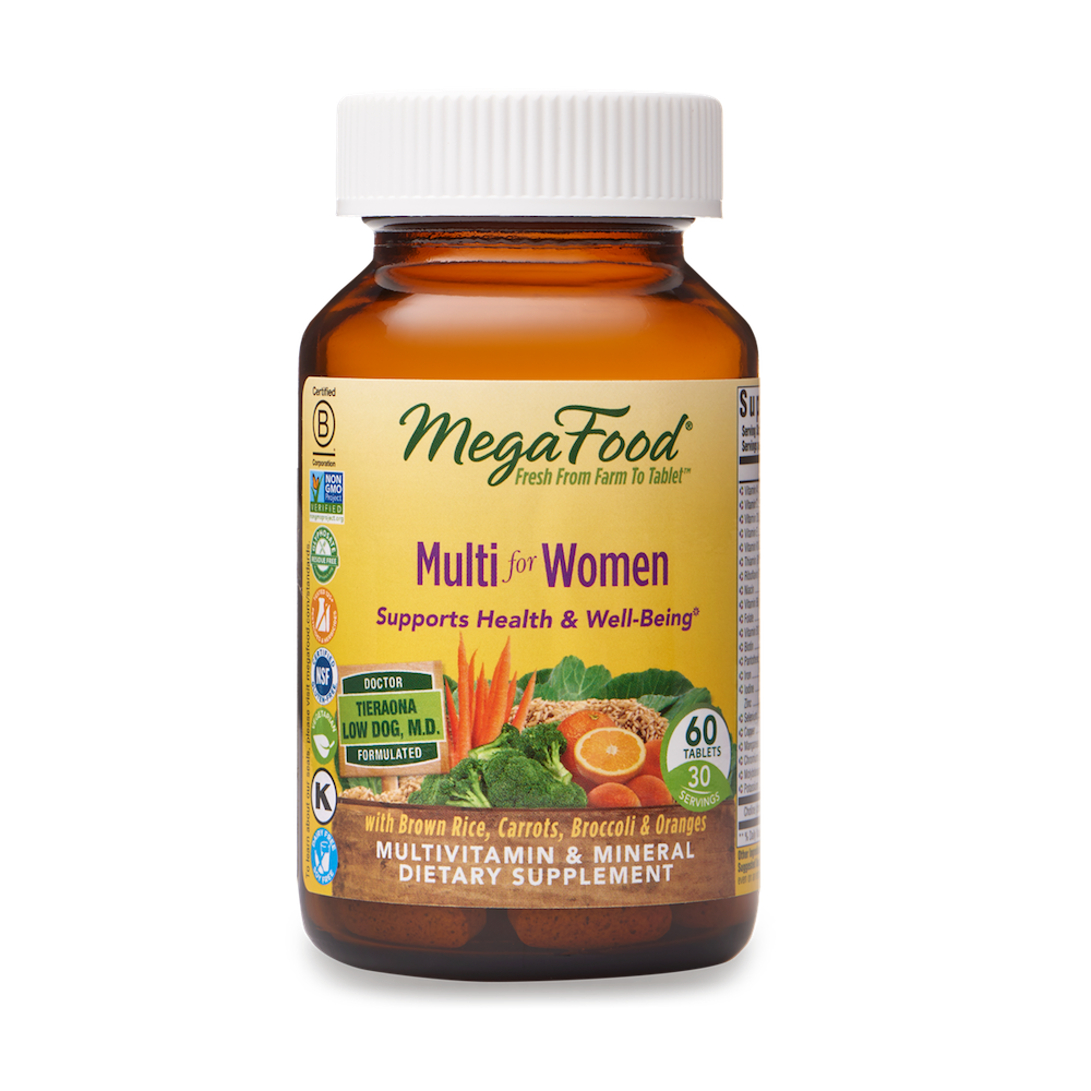 A bottle of Megafood Multi for Women