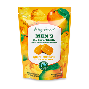A package of Megafood Men's Multivitamin Soft Chews