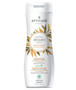 Natural Shampoo - Volume and Shine - Attitude