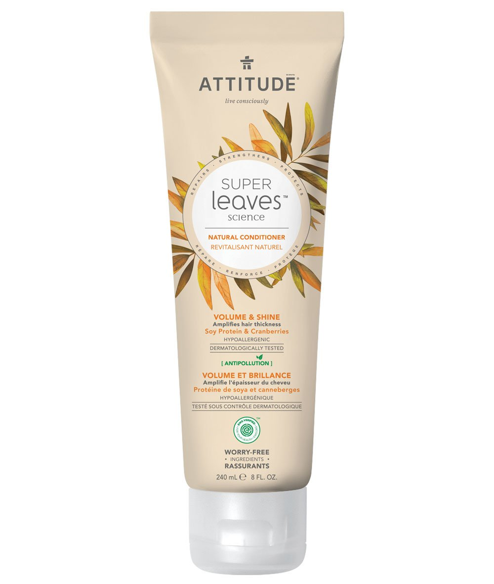 Natural Conditioner - Volume and Shine - Attitude