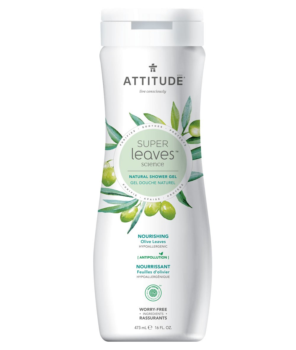 Nourishing Body Wash - Olive Leaves - Attitude