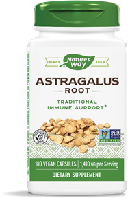 Bottle of Astragalus Root Nature's Way