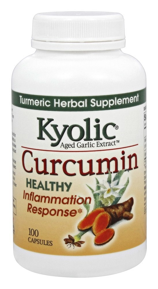 A bottle of Kyolic Curcumin