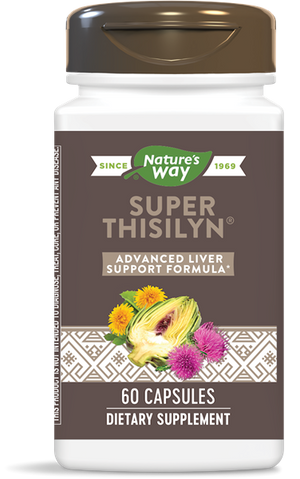 A bottle of Nature's Way Super Thisilyn Advanced Detox Formula