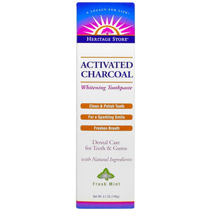 Activated Charcoal Thoothpast - Whitening