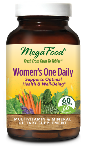 A bottle of Megafood Women's One Daily