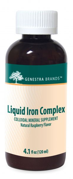 A bottle of Genestra Brands Liquid Iron