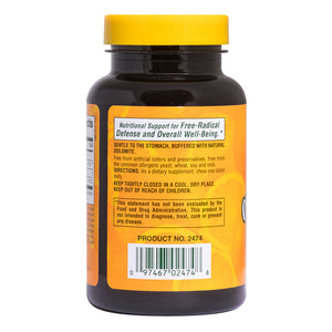 Orange Juice C 250 mg - Chewable Vitamin C