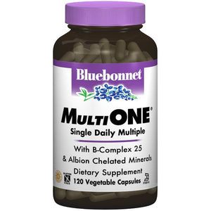 A bottle of Bluebonnet Multi One® Formula