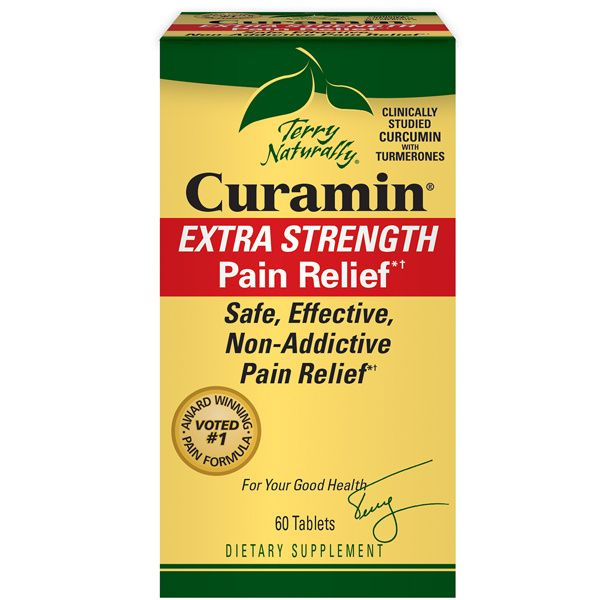 A package of Terry Naturally Curamin® Extra Strength