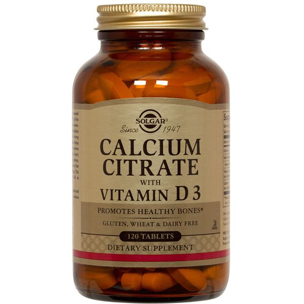 A jar of Solar Calcium Magnesium with Vitamin D3