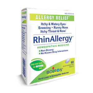RhinAllergy® Tablets - Boiron - 60 quick-dissolving tablets