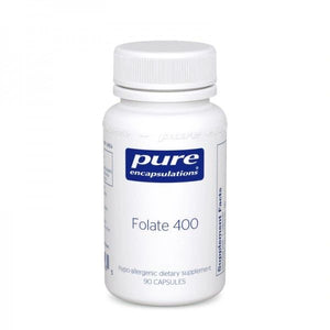 A bottle of Pure Folate 400