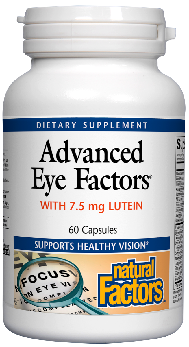 Advanced Eye Factors w/ 7.5 mg Lutein
