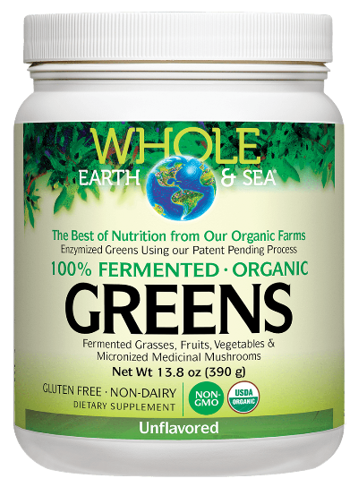 Whole Earth & Sea® 100% Fermented Organic Greens Unflavored
