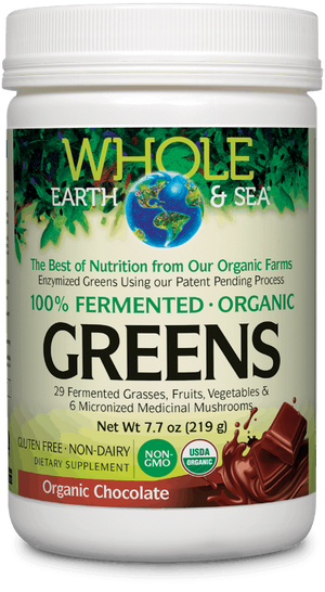 Whole Earth & Sea® 100% Fermented Organic Greens Organic Chocolate