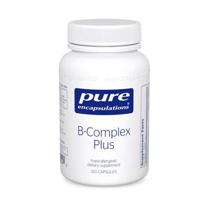 A jar of Pure B-Complex Plus