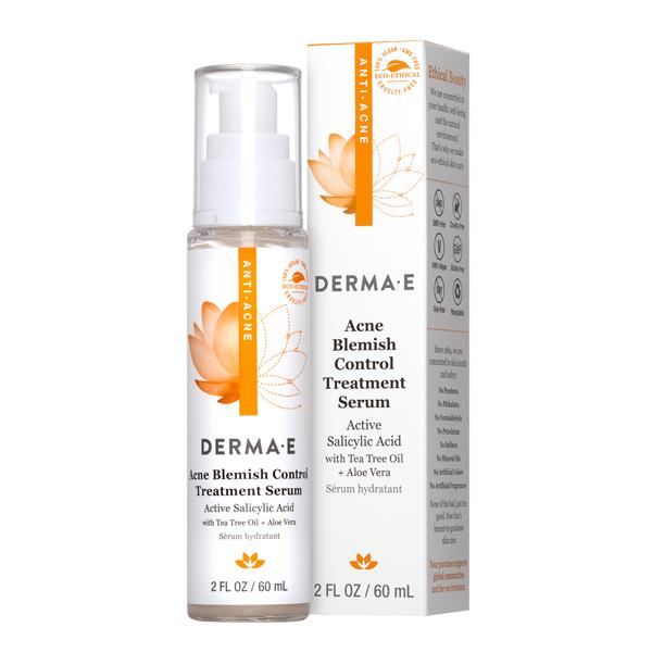 A bottle and package for Derma-E