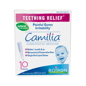 A package of CAMILIA® 10 doses