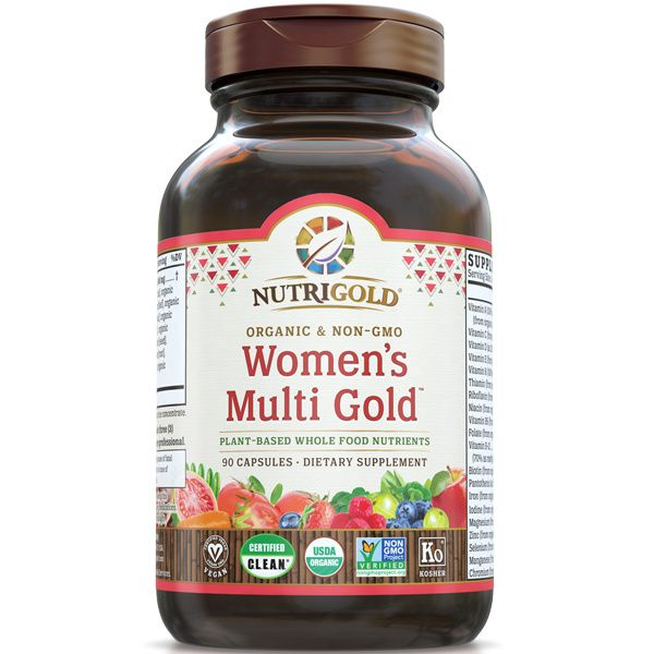 A bottle of NutriGold Women's Multi Gold