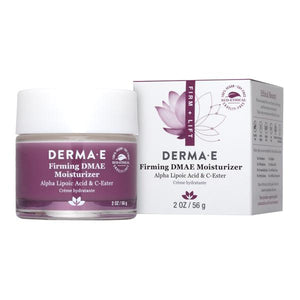 A jar and package for Firming DMAE Moisturizer with Alpha Lipoic & C- Ester