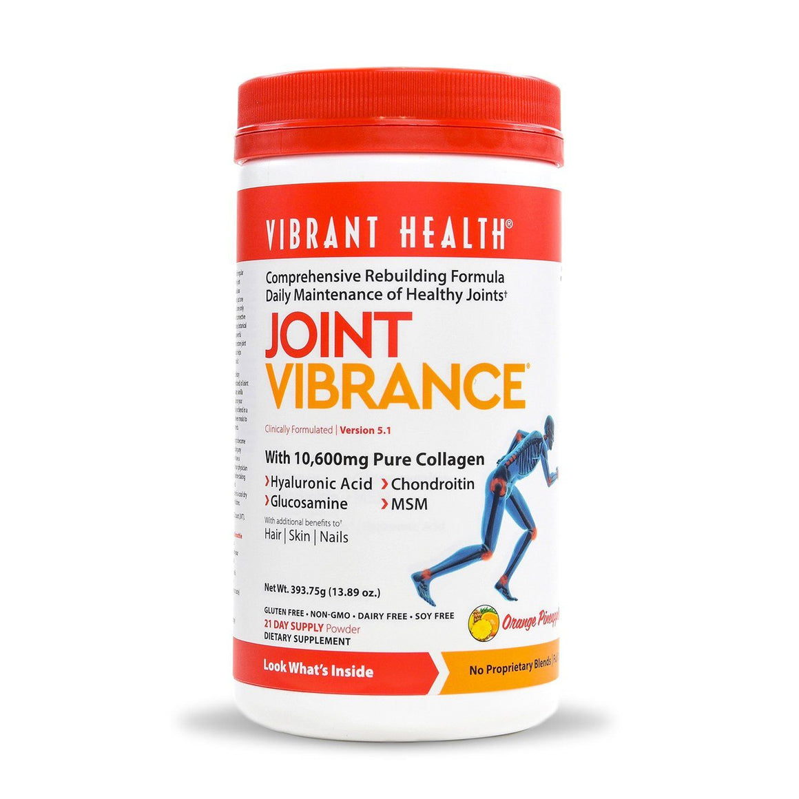 A bottle of Vibrant Health Joint Vibrance