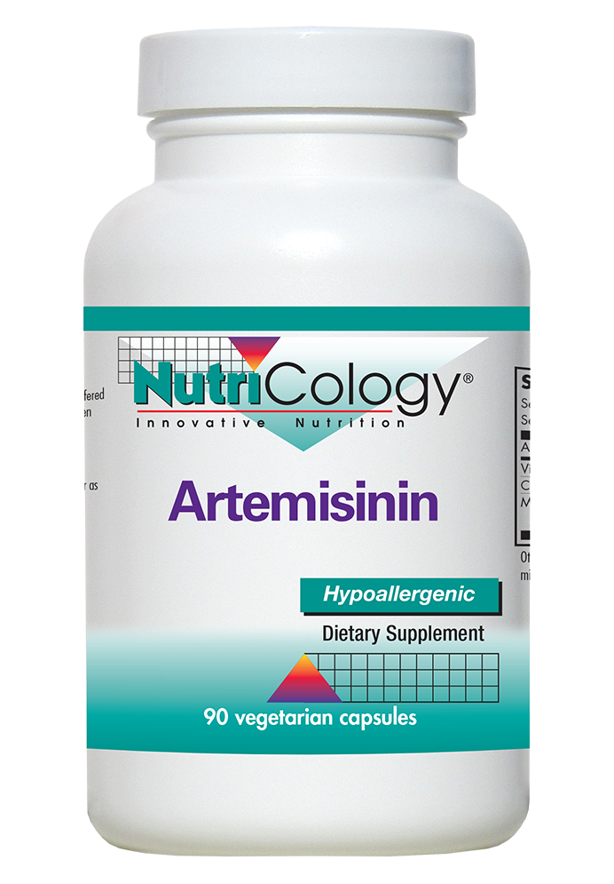 A bottle of NutriCology Artemisinin
