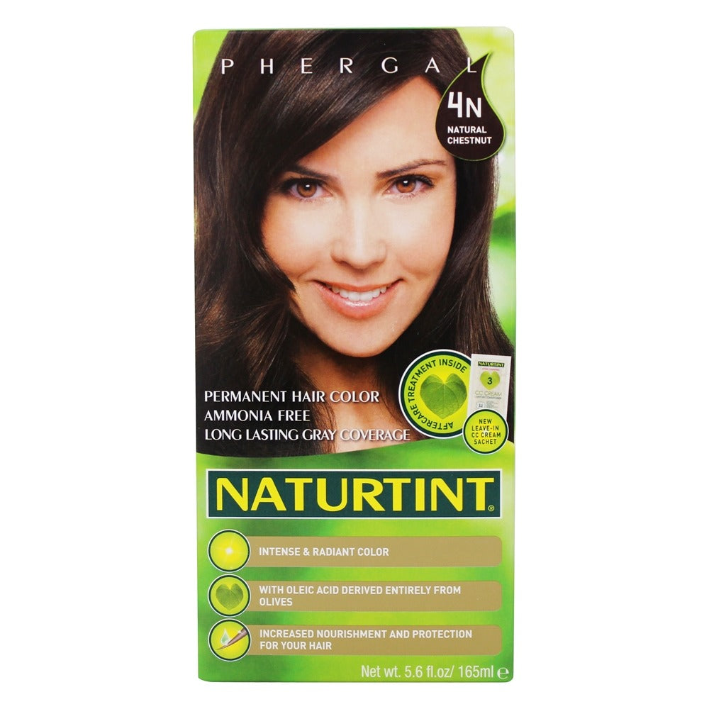 A package of Naturtint 4N Natural Chestnut